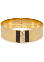 Ca And Lou Naomi 24Kt Gold Plated Choker