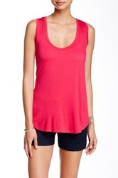 24 7 Comfort Racerback Tank Plus Size Available Pink