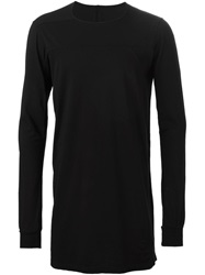 Rick Owens Drkshdw Crew Neck Sweater Black