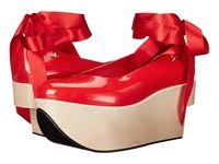 Vivienne Westwood Anglomania Melissa Rocking Horse Red Women's Shoes