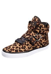 Radii Footwear Straight Jacket Hightop Trainers Beige Black
