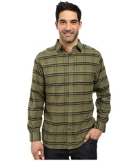 Mountain Khakis Peden Plaid Shirt Olive Drab Men's Clothing