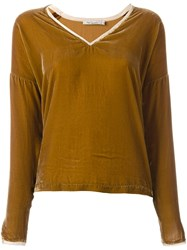 Mes Demoiselles 'Vicky' Blouse Brown