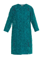 Nina Ricci Guipure Lace Evening Coat