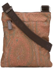 Etro 'Gadget' Crossbody Bag Brown