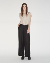 Pas De Calais Wide Leg Pants Black