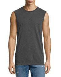 True Religion Russell Westbrook Collection Elongated Sleeveless Muscle Tee Used Black Men's