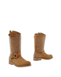 Giacomorelli Ankle Boots Tan