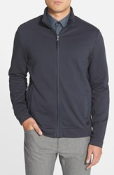 Men's Boss 'Cannobio 75' Regular Fit Full Zip French Terry Sweatshirt