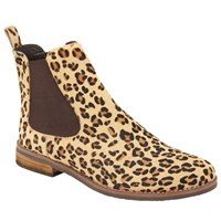 John Lewis Page Slip On Ankle Boots Leopard