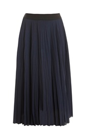 Elizabeth And James Braylon Midi Skirt Navy