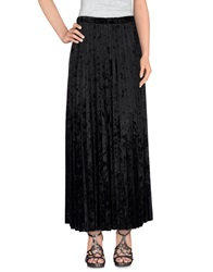 Cristinaeffe Collection Long Skirts Black