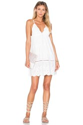 Somedays Lovin Song Bird Anglaise Dress White
