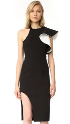 C Meo Collective Heart Commands Dress Black