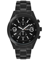Unlisted Men's Black Tone Bracelet Watch 47Mm 10024674