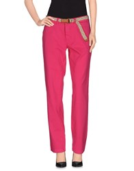 Franklin And Marshall Trousers Casual Trousers Women Fuchsia