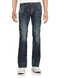 Cult Of Individuality Greaser Straight Leg Jeans Lunar