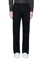 Givenchy Relaxed Fit Scuba Jersey Jogging Pants Black