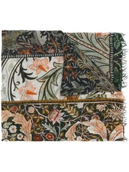 Faliero Sarti 'Wall Flower' Scarf Multicolour