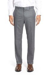 Men's Wallin And Bros. Flat Front Wool Flannel Trousers