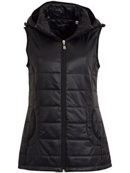 Calvin Klein Hooded Padded Gilet Black