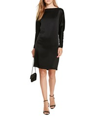 Polo Ralph Lauren Satin Shift Dress Polo Black