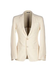 Dolce And Gabbana Suits And Jackets Blazers Men Ivory