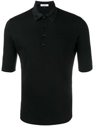 Valentino 'Rockstud' Polo Shirt Black
