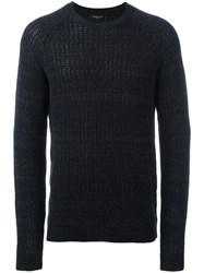 Roberto Collina Crew Neck Jumper Grey