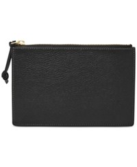 Fossil Small Pouch Black