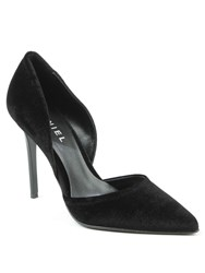Daniel Nicolette Two Part Court Shoes Black