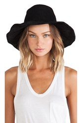 Lovely Bird Suede Bohemia Hat Black