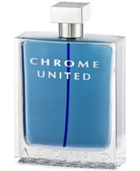 Chrome United By Azzaro Eau De Toilette 6.8 Oz