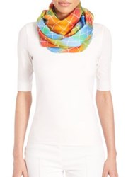 Akris Punto Printed Scarf Multicolor