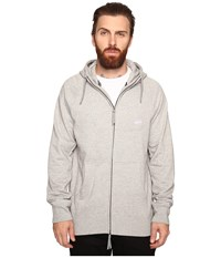 Nike Sb Everett Hoodie Dark Grey Heather White Men's Sweatshirt Gray