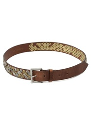 Faith Connexion Embellished Belt Brown