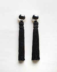 Sophie Buhai Vanderbilt Tassel Earrings Silver