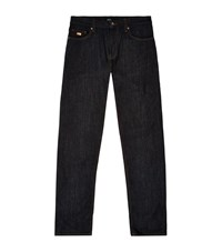 Boss Dark Wash Regular Fit Jeans Male Midnight
