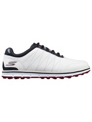 Skechers Go Golf Tour Elite Golf Shoes White And Navy White And Navy