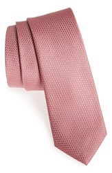 Men's Calibrate 'Seattle' Textured Silk Tie