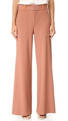 See By Chloe Wide Leg Trousers Dusty Pink