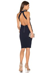 Becandbridge Winkworth Halter Dress Navy