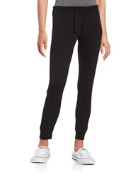 Betsey Johnson Cropped Jogger Pants Black