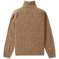 Howlin' Moonchild Roll Neck Brown