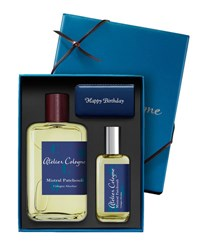 Atelier Cologne Mistral Patchouli Cologne Absolue 200 Ml With Personalized Travel Spray 30 Ml Bordeaux