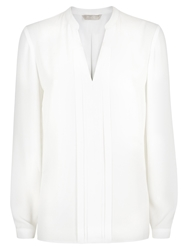 Planet Long Sleeve Blouse Ivory