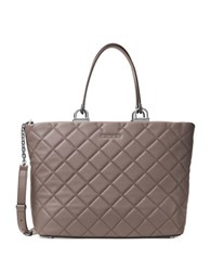 Michael Michael Kors Quilted Leather Tote Cinder