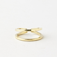 Double Ring Brass