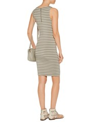 Tart Collections Lindy Striped Stretch Modal Dress Green