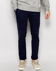 Selected Homme Chinos In Regular Fit Navy Blazer